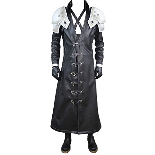 Final Fantasy Vii: Advent Children Sephiroth Costume Set US Men - Sephiroth Cosplay Kostüm