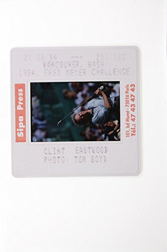 Fotomax Slides Photo of Fred Meyer Challenge Challenge Clint Eastwood (Fred Meyer)