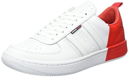 tommy-hilfiger-j2385ump-5a-sneakers-basses-homme-blanc-white-tomato-912-44-eu