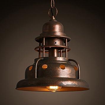 Andea retro iron chandeliers loft industrial warehouse lights restaurant bar decorative lamps coffee shop hanging lights engineering lighting entertainment