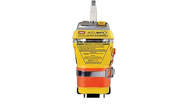Gme Mt603g Leuchtfeuer Nautisches Epirb Mit Gps Manuelle Und Automatische Aktivierung Bei Kontakt Mit Wasser Navigation
