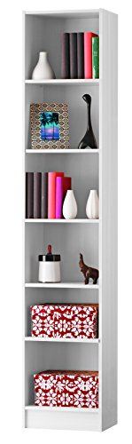 Demeyere 'Dico' 5Regal Bücherregal, Holz, Perle weiß, 40cm