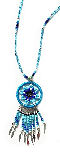 Halskette Kette Traumfänger DREAM CATCHER – Schamane Indianer Schutz Meditation Astrologie Esoterik Yoga Spiritualität
