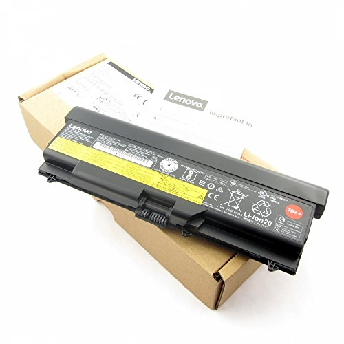 Original Hochkapazitätsakku 9 Zellen Akku Battery 55++/70++, LiIon, 10.8V, 8700mAh, schwarz für Lenovo ThinkPad T520, T520i (9 Lenovo Lithium-ionen Cell)