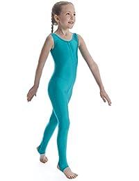 61463a193 Dance Gear Nicola Children's Nylon Lycra Sleeveless Catsuit