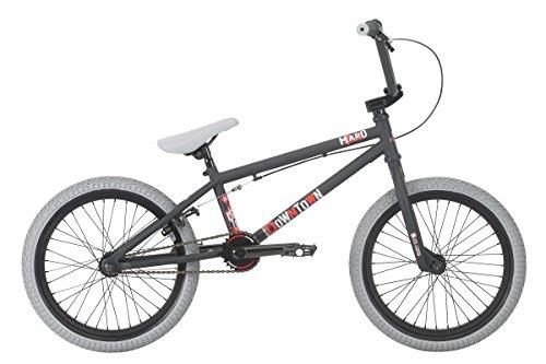 """Haro Downtown 18"""" 2018 Freestyle BMX Bike (18"""" - Schwarz)"""