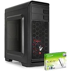 PC DESKTOP QUADCORE A10 9700 3,8 GHz TURBO • RADEON R7 SERIES • 8GB DDR4 • WINDOWS 10 PRO • 1TB HDD • PC ASSEMBLATO PC FISSO DA UFFICIO CASA COMPLETO HD PRONTO USB 3.0
