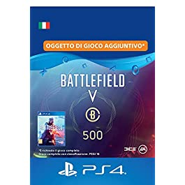 Battlefield V – 500 Valuta Battlefield – PS4 Download Code – IT Account DLC | PS4 Download Code – IT Account