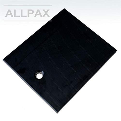 Einlegeplatte für Kammermaschine - Größe M - Abmessungen: 400 x 320 x 20 mm