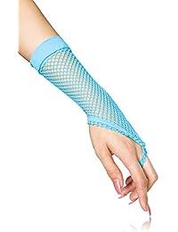 Fingerlose elastische Netz Handstulpen Handschuhe