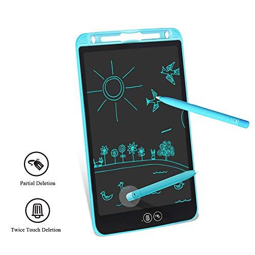 tablet grafico Tavoletta Grafica LCD Scrittura Tablet 10 Pollici Cancellazione Parziale Elettronica eWriters Drawing Doodle Board Digitale con Memoria di Blocco per Bambini Adulti