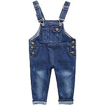 ARAUS Pichi Pantalones de Petos Niños Niñas Vaquero Estilo Lindo Moda  Primavera Verano 7392d68ebc4e