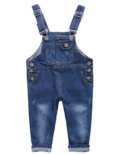 15c123319 ARAUS Pichi Pantalones de Petos Niños Niñas Vaquero Estilo Lindo Moda  Primavera Verano