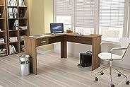 Wooden Desk Multiuse From Politorno Brown 1181