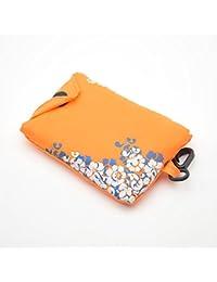 8a8133a0ef Icyang 1PC pieghevole riutilizzabile shopping bag blu e bianco porcellana  Tote organizzazione borsetta borsa a tracolla