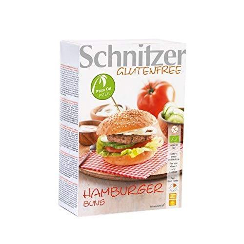 Schnitzer - Pains Burgers Sans Gluten 125G Bio - Lot De 4 - Livraison Rapide En France - Prix Par Lot