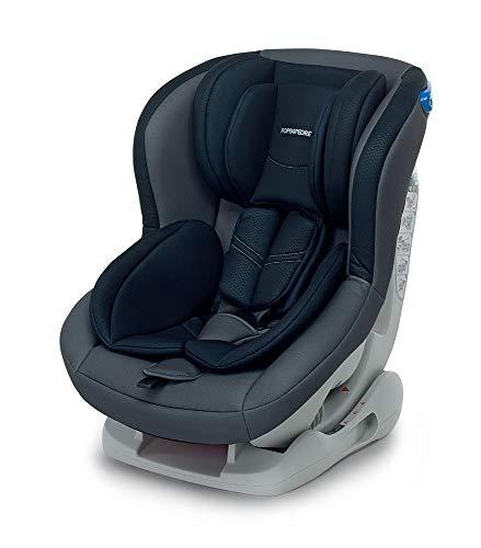 Foppapedretti Mydrive Seggiolino Auto, Gruppo 0/1 (0-18kg), per Bambini dalla Nascita fino a 4 Anni circa, Antracit