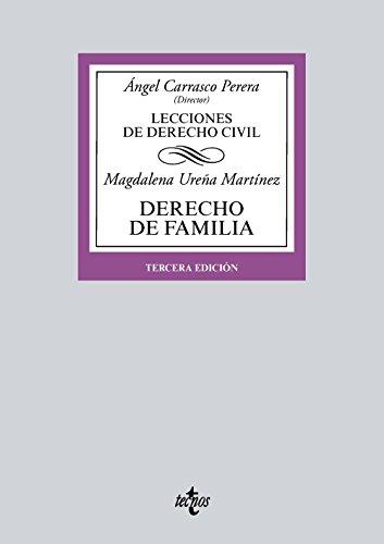 Portada del libro Derecho de Familia: Lecciones de Derecho Civil (Derecho - Biblioteca Universitaria De Editorial Tecnos)