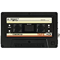 Reloop TAPE Negro grabadora de audio digital - Accesorio de audio (Negro, Poder, Intensidad de señal, 103 x 14 x 65 mm, 59 g)