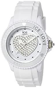 Ice-Watch Ice-Love White Small Silicone Watch LO.WE.S.S.10