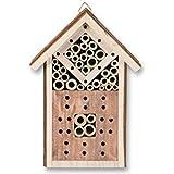 Casa degli insetti in legno, da appendere, 16,5x 9x 23,5cm, insetti giardino Primavera nistkasten Brut Aiuto Api Insetti Coleotteri