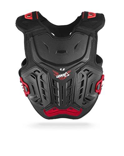 LEATT-BRACE Leatt 4.5 Coffre Protector (Noir/rouge, Junior)