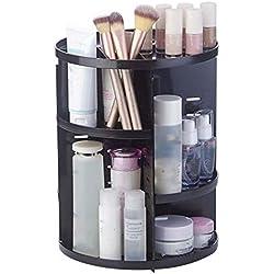 FLY-plant Organiseur Rotatif à 360 degrés pour pinceaux de Maquillage, Bijoux, Maquillage, cosmétique, étagère