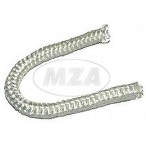 amianto cuerda–Repuesto/fibra de vidrio cuerda para abrazaderas para diámetro de 6x 110mm Silenciador Corte (150mm)–SR1, SR2, KR50/51, pass. para