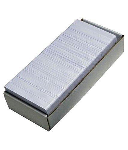 Kataria Plain White PVC ID Cards For Inkjet Printers - Set of...