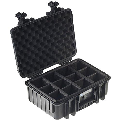 B&W outdoor.cases Typ 4000 mit variabler Facheinteilung (RPD) - Das Original
