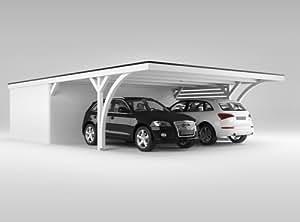 carport mit ger teraum easycarport 616 x 900 cm garten. Black Bedroom Furniture Sets. Home Design Ideas