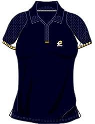Lotto Camiseta polo WTA Tour Gold, Mujer, dark navy - L (40)