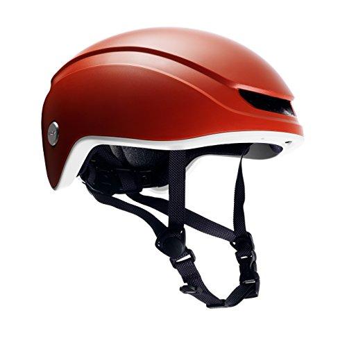 Brooks England Ltd Island Helmet Fahrradhelm, orange/Grey, Gr. M