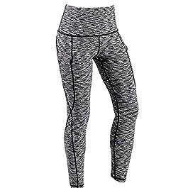 Kword Pantaloni Donne Leggings A Vita Alta Pantaloni Dritti Sciolti Pantalone Jogging Casual da Donna Pantaloni da Yoga Running Fitness Allenamento Hip Hop Harem Pants
