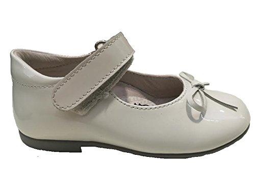 Naturino Falcotto , Chaussures premiers pas pour bébé (fille) blanc blanc 24 Blanc