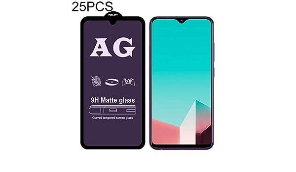 Wangl Mobile Phone Tempered Glass Film 25 PCS AG Matte Anti Blue Light Full Cover Tempered Glass for Vivo S1 Pro Tempered Glass Film