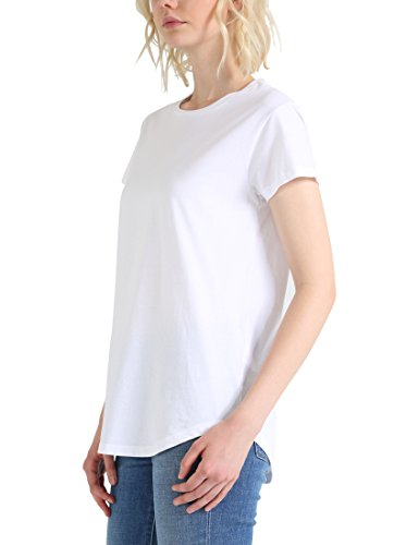 Berydale Damen T-Shirt Bd324, 2er Pack Weiß (Weiß/Weiß Weiß/Weiß)