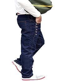 Newfacelook New Fashion Designer Torn Dress Denim Blue Jeans Pantalons