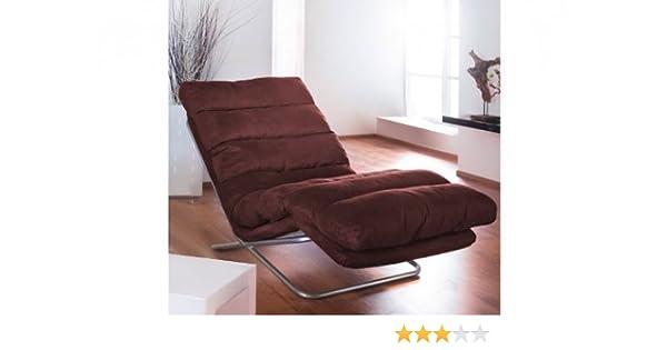 Relax Liege Mocca Microfaser Wohnzimmer Relaxstuhl Couch Sofa: Amazon.de:  Küche U0026 Haushalt
