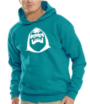 Touchlines Herren Skeletor Kapuzen Sweatshirt B7103 divablue XL Preisvergleich