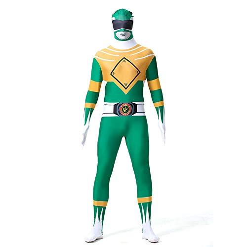 - Grünes Power Ranger Anzug