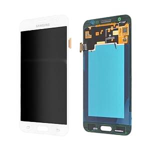LCD Display Samsung J500F Galaxy J5 Original full set White - LCD Display + Display Glas + Touchscreen + Elektronik