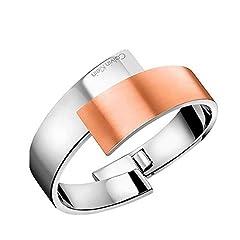 Idea Regalo - Calvin Klein Bracciale intrecciato Donna acciaio_inossidabile - KJ2HPD2801XS
