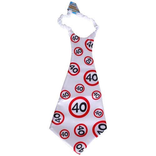 Maxi Krawatte Krawatte 40 Jahre Geburtstag