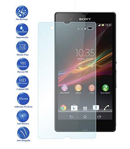 Ilovemyphone - Protector de Pantalla Cristal Templado para Sony Xperia Z C6602 L36H