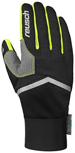 Reusch Herren Arien Stormbloxx Handschuhe, Black/Neon Yellow, 10