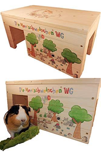 Nagerhaus Wald Kleintierhaus XXL mit 2 Eingängen