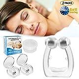 Dispositivos Dolphor antironquidos, dilatadores nasales con tope de ronquidos, clip...