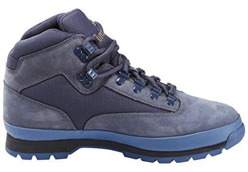 Timberland Euro Hiker - Chaussures de randonnée - Mid Fabric and Leather bleu 2016 chaussures de montagne Navy