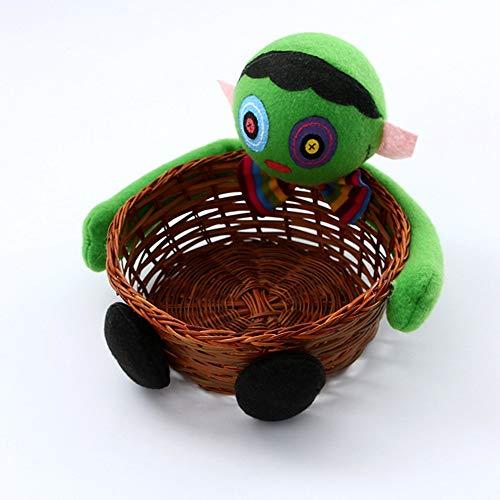 Kekse Obstkorb Außenhandel Dekoration Puppen Dekoration Bar Layout Großhandel, Zombies Tragen Candy Cans ()